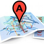 Local SEO - Map with pin